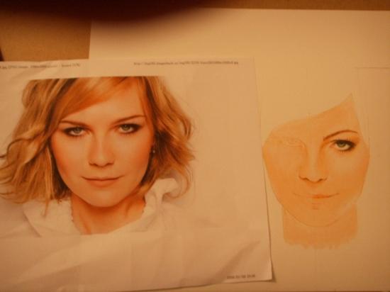Kirsten Dunst by ADRIIEEE